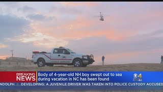 Body Of NH Boy Swept Out To Sea On NC Beach Found