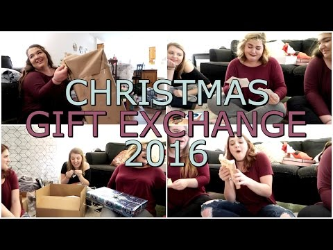 WHAT WE GOT EACH OTHER FOR CHRISTMAS | GIFT EXCHANGE 2016 VLOG