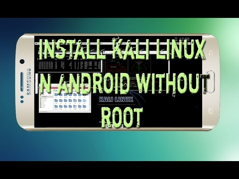 How to Install Kali Linux In Any Android Without Root