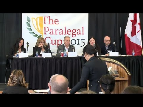 The 2015 Paralegal Cup - Final Moot Round