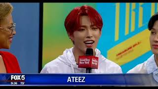 Ateez being chaotic in NY