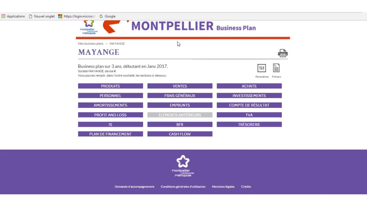 mbp montpellier business plan