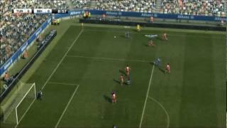 Türkei gegen Bosnien PES 2012