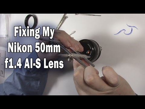 Fixing My Nikon 50mm 1.4 AI-S Lens