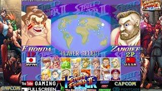 Fightcade - Hyper Street Fighter II Online - Boshi^2 (JPN) vs. kusozakoman (JPN) - 終極快打旋風2線上對戰