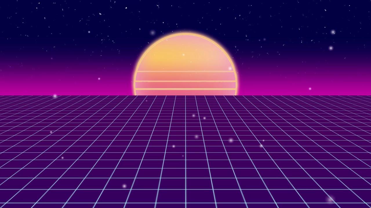 10 Minute Vaporwave Grid - Custom Clone Hero Background