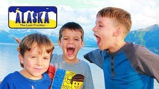ALASKA Motorhome Vlog Road Trip AllToyCollector 5 Kids ~ 5 Boys Family Vacation To Alaska Family Fun
