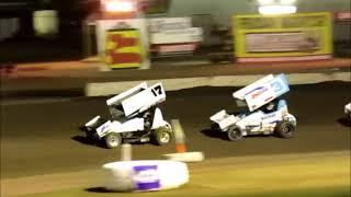 8 25 18 Sprintcars Johnny Key @ Ocean Speedway  Part 2