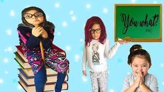 KAYNANA İNGİLİZCE DERSİNE GİRİYOR OLANLAR OLUYOR! GÜLMEK GARANTİ  Comedy  for Kids The Funniest Kids