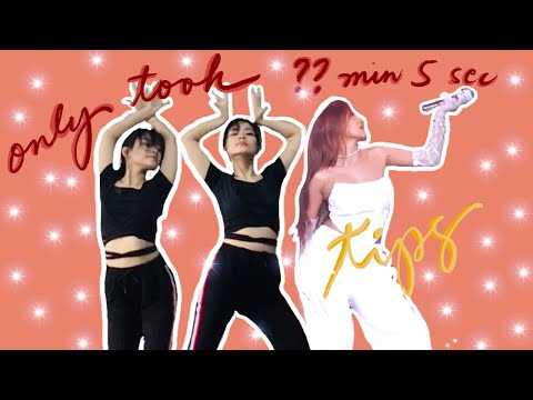 [Behind the Scene] How fast can I learn the choreography of Maria by Hwasa?