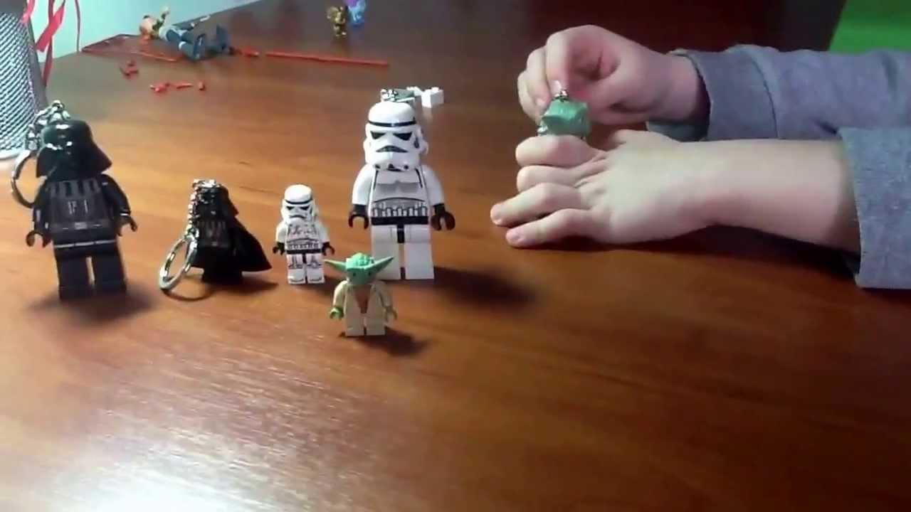 Star Wars Lego Led Lite Keychain