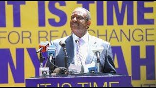 Presidential candidate denies grabbing public land