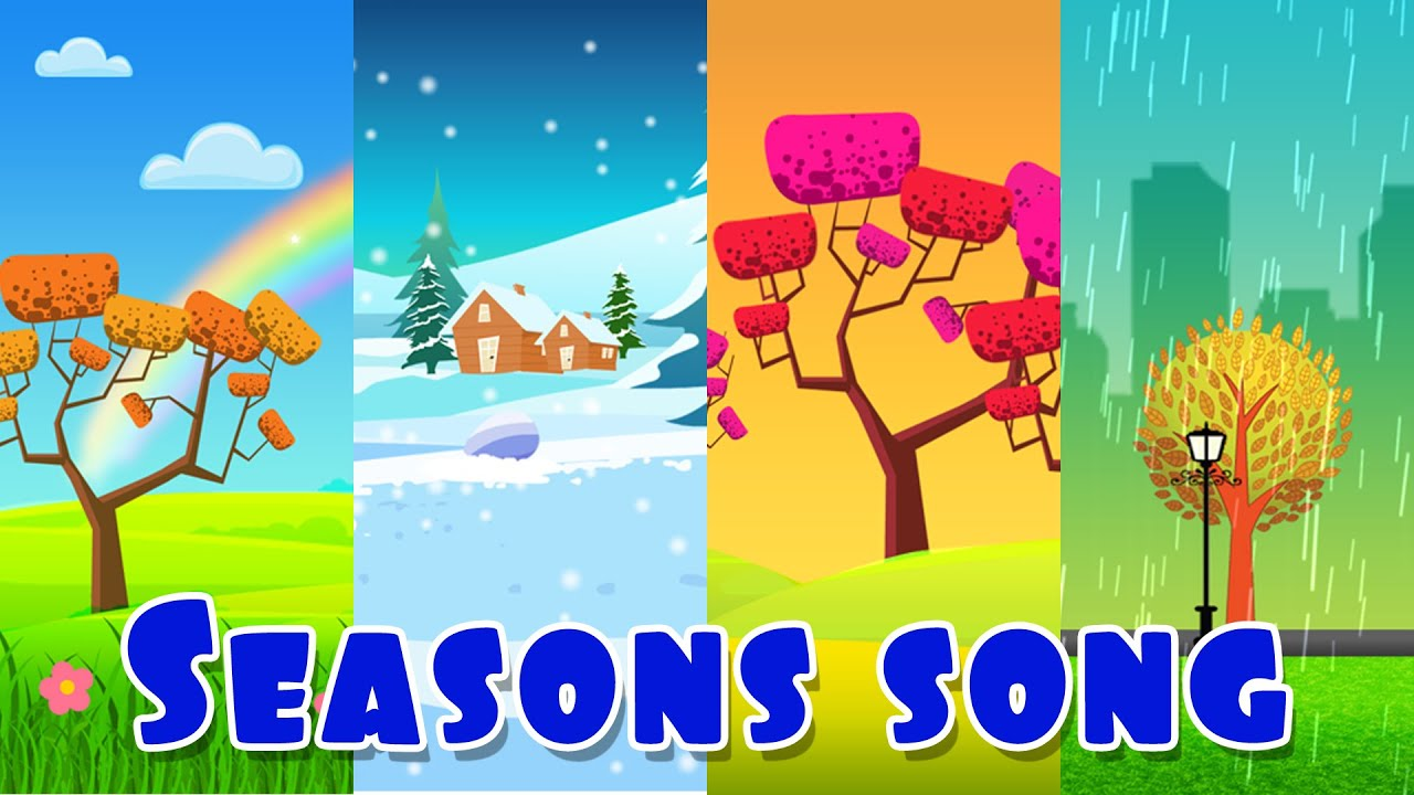The Four Seasons Seasons Song Youtube