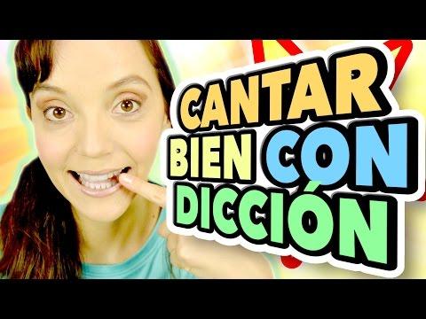 Como CANTAR: EJERCICIOS DE DICCIÓN PARA CANTAR Y HABLAR MEJOR - Clases de CANTO 22
