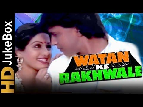 Watan Ke Rakhwale (1987) | Full Video Songs Jukebox | Mithun Chakraborty, Sridevi, Dharmendra