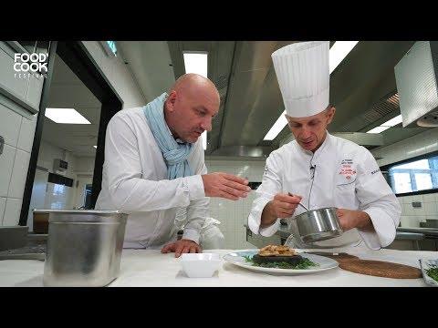 Restaurant Les Fresques Hotel Royal Evian avec Chef Patrice Vander - Food Cook Festival 2018