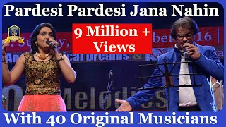 pardesi-pardesi-i-raja-hindustani-i-udit-alka-i-90-s-hindi-songs-live-i-manisha-shouriin