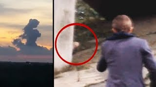 Mysterious Unexplained Events - 6 Strange Moments Caught On Camera!