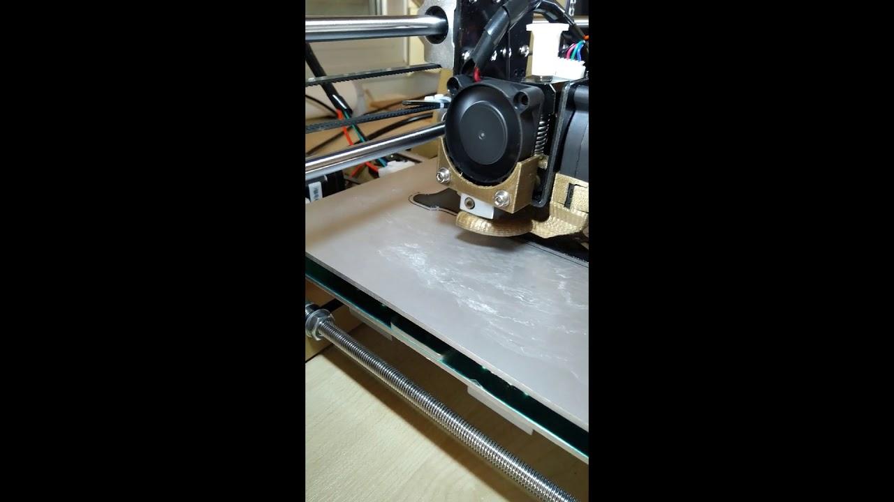 Anet A8 3d printing Polymaker Polyflex flexible filament