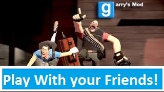 How to play GMod with your Friends [Your own private Game!] Using Tunngle