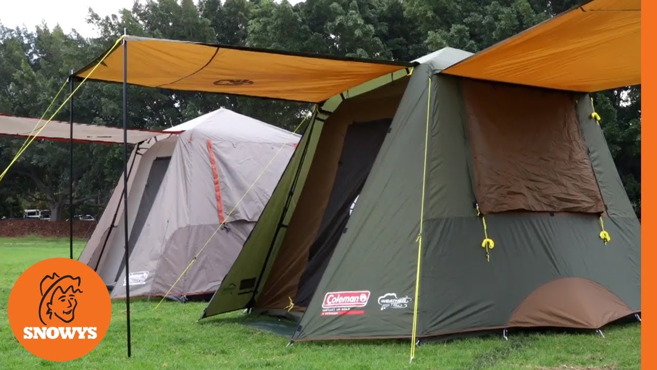 Coleman Instant Up Tents: Silver vs Gold