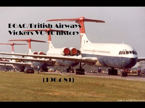 Fleet History - BOAC/British Airways Vickers VC-10 (1964-81)