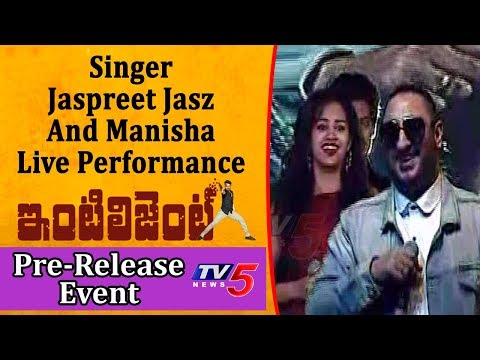 Singer Jaspreet Jasz And Manisha Live Performance @ Intelligent Movie Pre Release Event | TV5 News