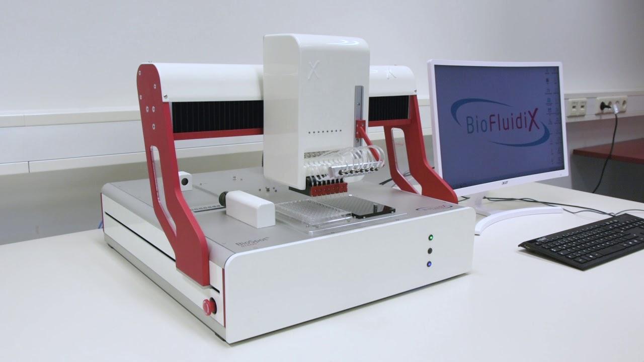 Swift Analytical | BioFluidix BioSpot | non-contact low