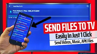 How to Send File to TV | Send/ Transfer File to Android TV