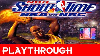 Playthrough - NBA Showtime: NBA on NBC (PS1)