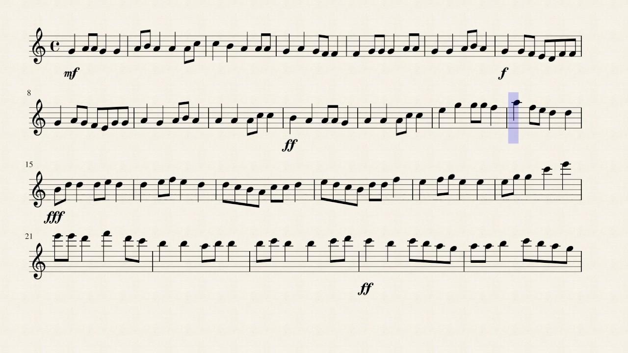 Violin Solo (Easy)