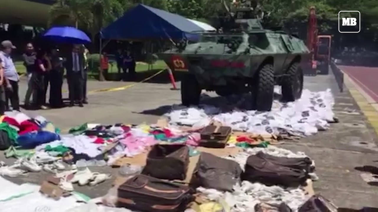 The National Committee on Intellectual Property Rights destroys P11.8M worth of pirated goods