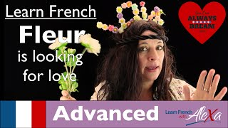 Valentines Day Message from Fleur (Conversational French Vocabulary With Alexa)