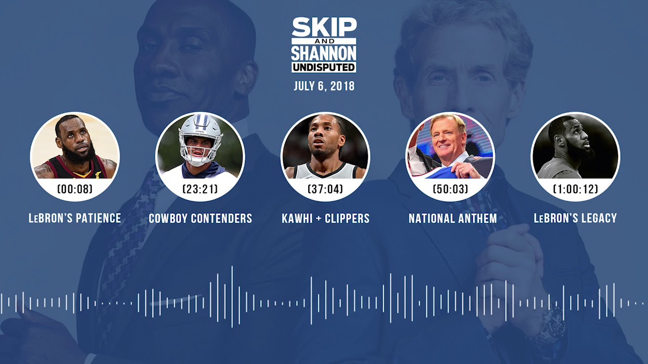 UNDISPUTED Audio Podcast (7.6.18) with Skip Bayless and Shannon Sharpe | UNDISPUTED
