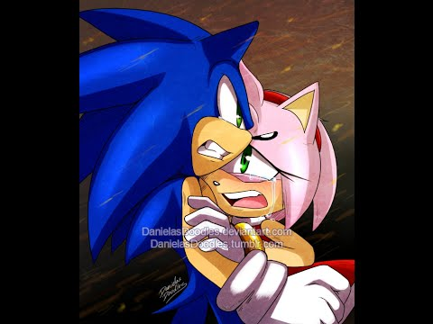 Sonic And Amy Hurry Up And Save Me