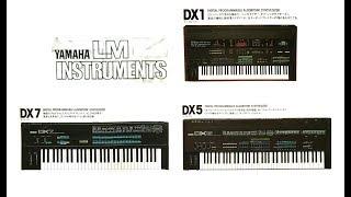 ヤマハ キーボード(DXシリーズ)デジタル機器 カタログ 1985年12月