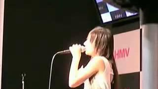 2007年5月27日、渋谷HMV(当時はセンター街)でのDVD「Naked eyes」リリ...