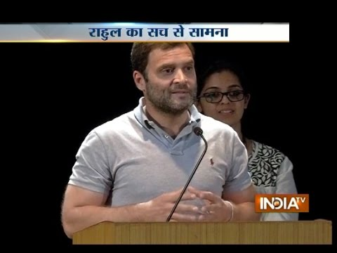 Embarrassment for Rahul Gandhi as Bengaluru Students Reply on Modi's Make in India and Swachh Bharat