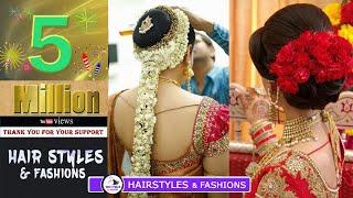 Poola Jada | Sankranthi Festival hairstyles |  How to Arrange Hair Extension | Hirstyles & Fashions