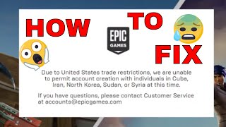 How to fix fortnite download page! (bypass US Trade Restriction)