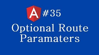 angular 2 tutorial 35 optional route parameters