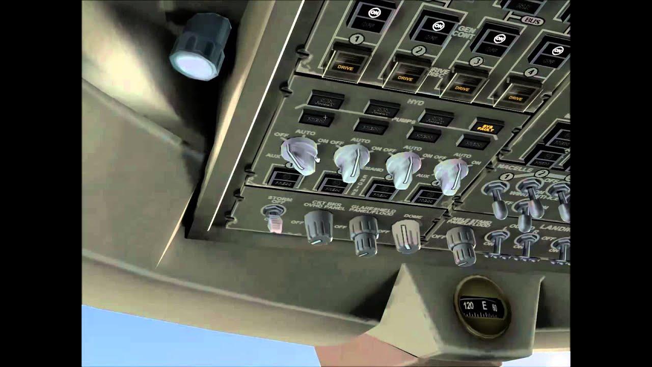 X-Plane 10 Autopilot Boeing 747-400