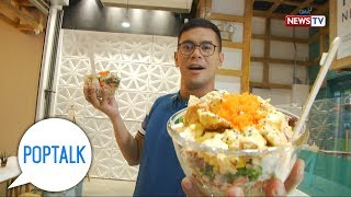PopTalk: Customize your own poke bowl at