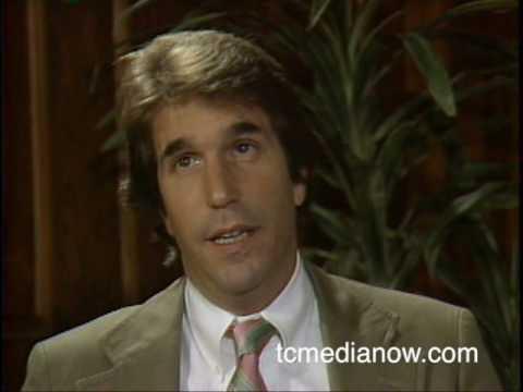 WCCO-TV Bill Carlson interviews Henry Winkler, 1982