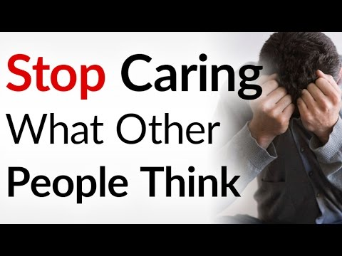 STOP Giving a Damn What Others Think | 3 Tips Quit Worrying About People's Opinions | Don't Compare