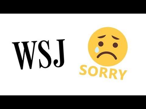 【PewDiePie中文字幕】华尔街日报向PewDiePie道歉 ! WSJ apologizes to PEWDIEPIE!