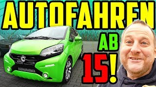 AUTOFAHREN Ab 15 - GAMMA Fahrzeuge - Marco Testet Leicht-Kraftfahrzeuge