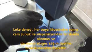 İnce Agregada Metilen Mavisi Deneyi TS EN 933-9