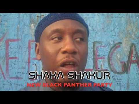 "KNOW THE LEDGE TV presents SHAKA SHAKUR-NEW BLACK PANTHER PARTY PART 2 ""SOLUTIONS"""