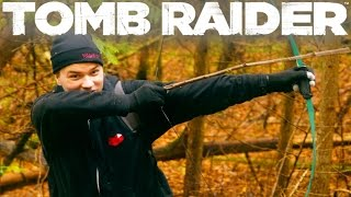 Real Life Tomb Raider - Fighting Bears, Climbing Rocks & More (Part 1)